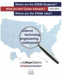 Release of Historic Report Links STEM* Student Interests with STEM Jobs by State and Job Type - AdmitOne™ | STEM Education models and innovations with Gaming | Scoop.it