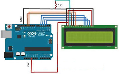 How to Interface Liquid Crystal Display Using An Arduino | Projects for Engineering Students | Scoop.it