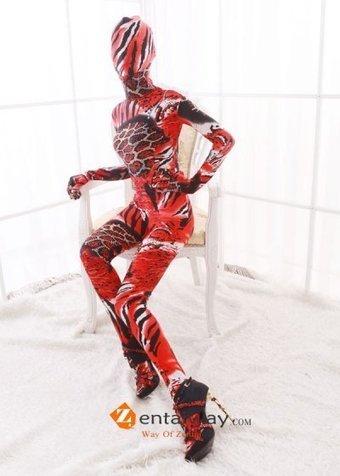 Cool Pattern Spandex Multicolor Zentai Suit [2013252] - $47.00 : zentaiway.com | Cool pattern zentai suits | Scoop.it