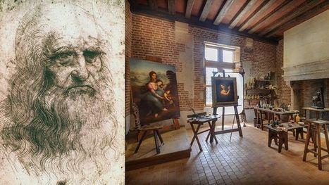 Léonard de Vinci revit dans son atelier au Clos Lucé   3D   Scoop.it