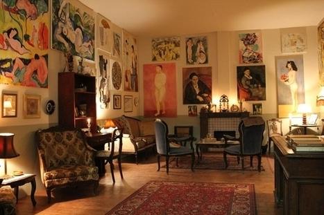 Reconstitution du salon de Gertrude Stein   Mauvais genre   Scoop.it