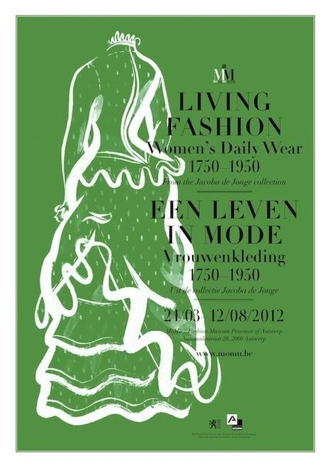 Een leven in mode, collectie Jacoba de Jonge in Antwerpse MoMu ... | musea | Scoop.it