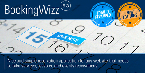Codecanyon Booking System - Bookingwizz v5.3 | Download Free Full Scripts | Media boosting | Scoop.it