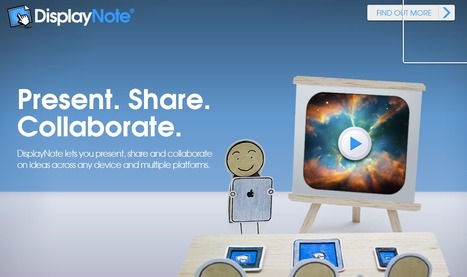 DisplayNote. Outil de presentation en mode collaboratif. | Time to Learn | Scoop.it