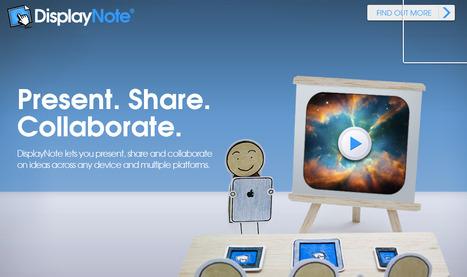 DisplayNote. Outil de presentation en mode collaboratif. | Creativity as changing tool | Scoop.it