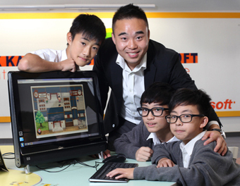 A school's award-winning computer game is helping students to thrive thanks to e-learning | Games and Learning | Scoop.it