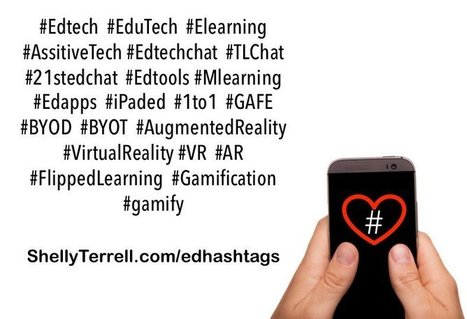 Top Hashtags to Get The Skinny on What's Happening in Edtech – Teacher Reboot Camp | Into the Driver's Seat | Scoop.it