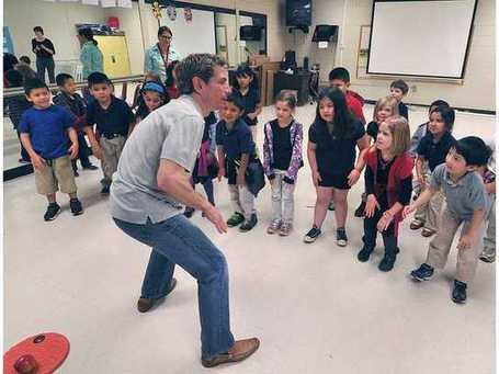 Students learn about reading and literacy through movement and rhythm - Gainesville Times | Design, Literacy and Multimodality | Scoop.it