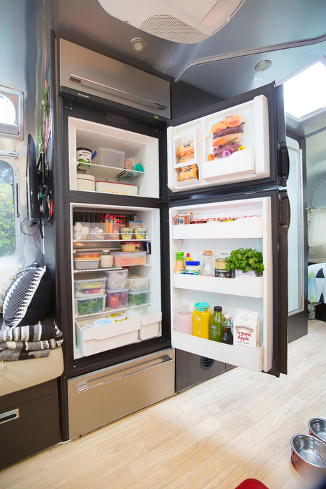 HOW TO PACK YOUR RV REFRIGERATOR FOR A WEEKLONG ROAD TRIP | from Side to Side | Scoop.it