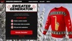 Coca-Cola Lets You Create Your Own Ugly Christmas Sweater - DesignTAXI.com   Public Relations and Social Media   Scoop.it