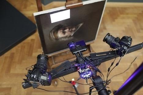 Des copies de toiles de MAÎTRES réalisées grâce à une IMPRIMANTE 3D   Machines Pensantes   Scoop.it