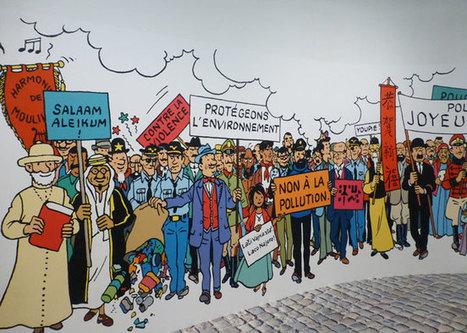 Hergé (et Tintin) au Grand Palais - Evous | Au hasard | Scoop.it