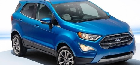 India-Bound 2017 Ford EcoSport Officially Unveiled | Maxabout Cars | Scoop.it