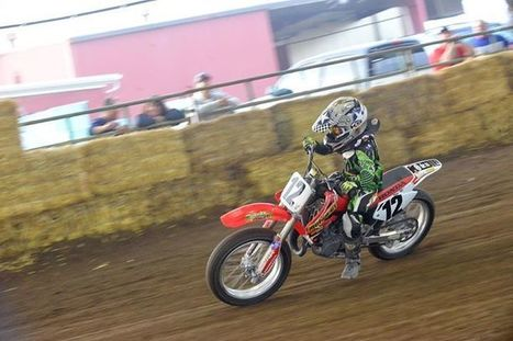 #12, Dominic C. DeMario, groove or cush, this kid gets it on.  He fell on turn o... | California Flat Track Association (CFTA) | Scoop.it