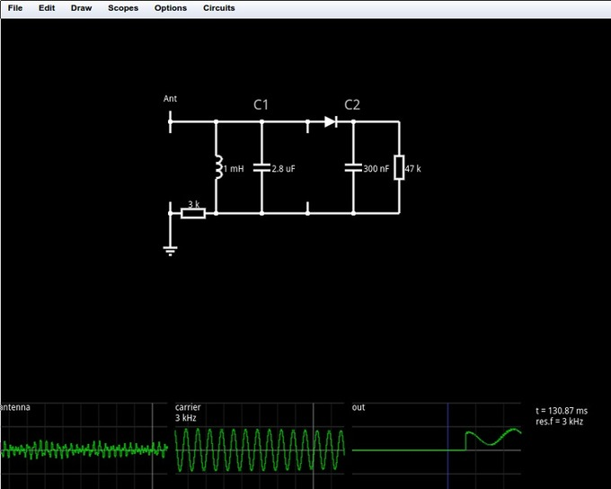 Circuit Simulator in #html5 by Paul Falstad - Lushprojects
