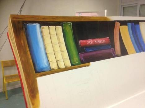 Un artiste sur un banc... | Actualité lycéenne  Lycée Mariette | Scoop.it