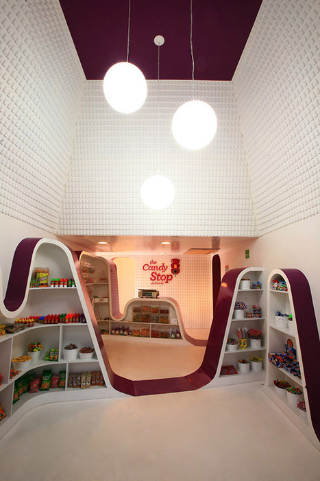 The Candy Stop, Candy Store Interiors by ROW Studio   Interior Ideas   Scoop.it