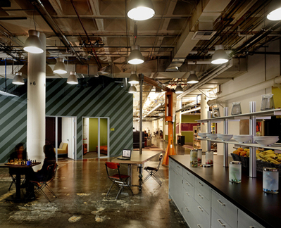 Facebook Office Headquarters - Office Design Blog | The Office | Scoop.it