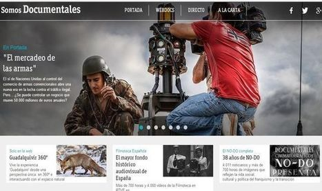 Somos Documentales, más de 5000 documentales para ver online.- | Lectura, TIC y Bibliotecas | Scoop.it