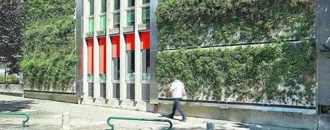 Des jardins verticaux dans les villes | ville et jardin | Scoop.it