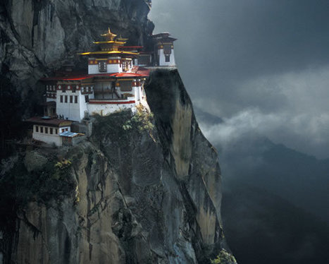 Bhutan: Tiger nest monastery | Wicked! | Scoop.it
