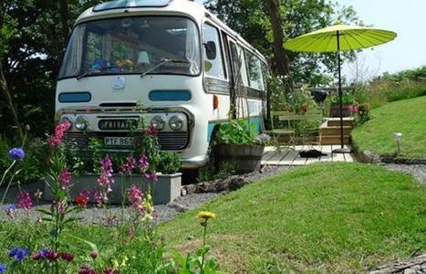 Un minibus réaménagé en superbe logement tout confort! | immobilier toulouse | Scoop.it