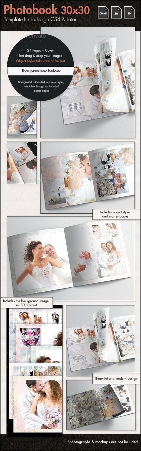 12 Beautiful Photobook Templates for Photographers | About Photography | Scoop.it