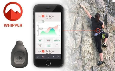 Whipper Is The World's First Climbing Performance Tracker | Sports Engineering | Scoop.it
