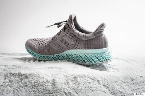 This 3D-Printed Adidas Sneaker Is Made Out Of Ocean Plastic | Coastal Restoration | Scoop.it