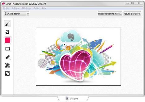 Skitch, le meilleur outil de capture d'écran pour Mac enfin sur Windows   Time to Learn   Scoop.it