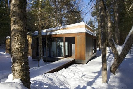 [inspiration] Un chalet-spa au Canada | IMMOBILIER 2013 | Scoop.it