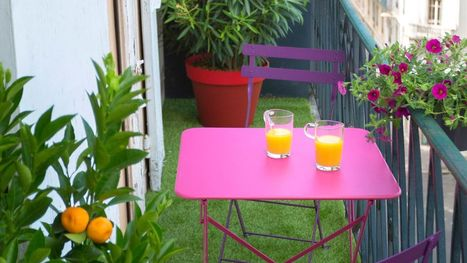 Terrasse ou balcon : 5 conseils pour l'aménager et le décorer | Conseils pro | Scoop.it