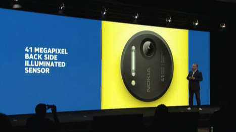 Nokia présente son Lumia 1020, le meilleur Windows Phone Et Photophone ! | Compil Nokia Lumia 1020 | Scoop.it