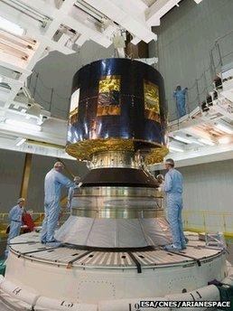 Europe launches weather satellite | Tout est relatant | Scoop.it