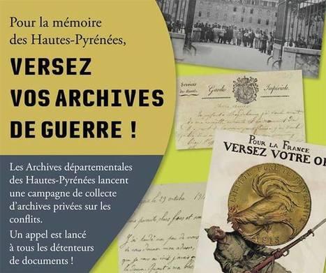 La Mémoire et la Guerre - Conseil Général des Hautes-Pyrénées   Facebook   Vallée d'Aure - Pyrénées   Scoop.it