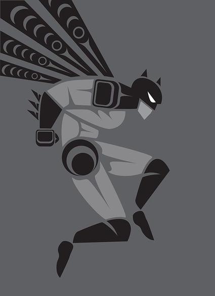Native American Super Heroes - Jeffery Veregge   Contemporary Native American Art   Scoop.it