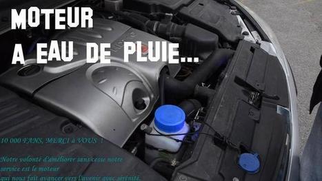 Un entrepreneur fait tourner les moteurs de voiture avec un dispositif complémentaire en eau de pluie | Solution Energie | Scoop.it