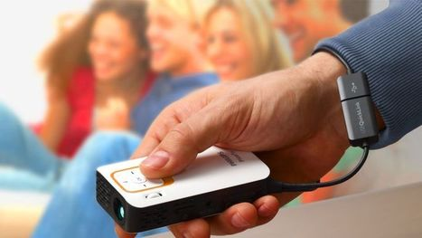 Un projecteur de cinéma dans un smartphone | Ecrans connectés | Scoop.it
