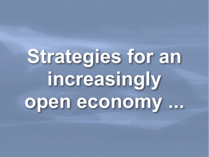 Strategies for an Increasingly Open Economy   API   Scoop.it