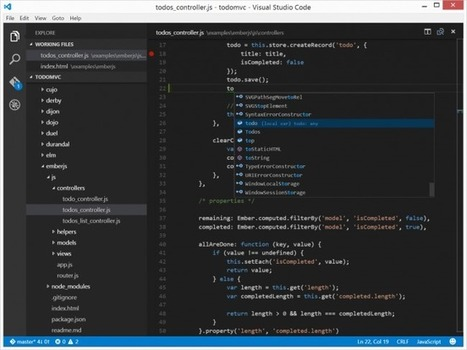 Visual Studio Code - L'éditeur de code gratuit de Microsoft | Time to Learn | Scoop.it