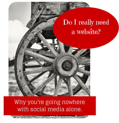 Five Reasons Social Media Won't Replace Your Website | Business Marketing & The Blog | Scoop.it