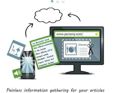 Gather information from everywhere, write articles and publish them to your blog   Cool Web 2.0 Tools for Educators   Scoop.it