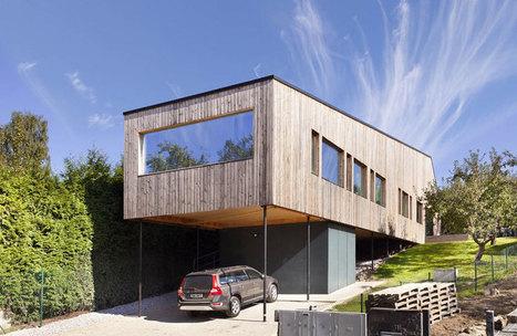 Vznášajúcí sa dom so sedlovou strechou   domov.kormidlo.sk   Scoop.it