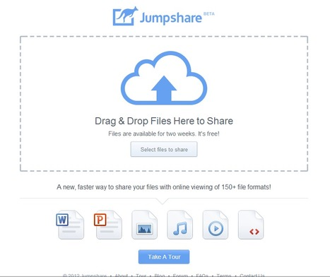 Jumpshare : A new, faster way to share your files with online viewing of 150+ file formats! | Time to Learn | Scoop.it
