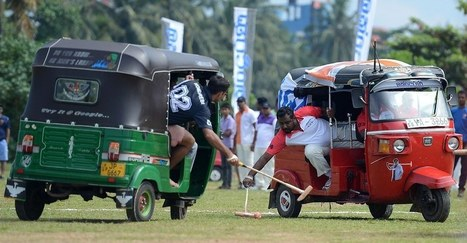 "Sri Lanka's ""Tuk Tuk Polo"" Looks Like The Most Intense Sport Ever 