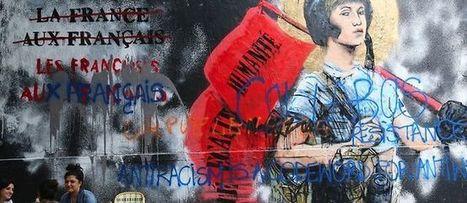 L'oeuvre de street art qui chagrine l'extrême droite et les racistes | Street-art Design Grafititi et Gros minet | Scoop.it