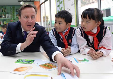 Ditch French and German lessons for Mandarin, says David Cameron as his visit ... - The Independent | Conservative party Politics Uk | Scoop.it