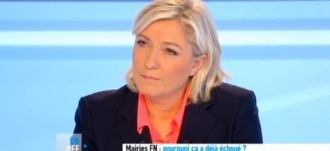 """Vidéo : Clash entre Marine le Pen et Anne-Sophie Lapix """"Mais vous ne pouvez pas vous taire 2 secondes?""""   Radio Planète-Eléa   Scoop.it"""