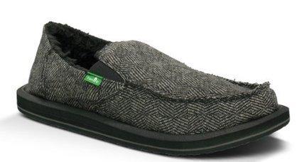 @1@  CHECKABON E CHILL Sanuk Mens Checkabon E Chill Slip-On,Black,11 M US Sanuk Black   Mens Slip-on Shoes   Scoop.it