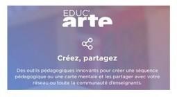 Arte lance sa nouvelle plateforme Educ'Arte | Ressources pour les TICE en primaire | Scoop.it
